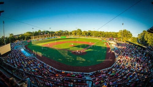 """Kokomo's Municipal Stadium was recently voted """"Best Summer-Collegiate Ballpark"""" for the second year in a row."""