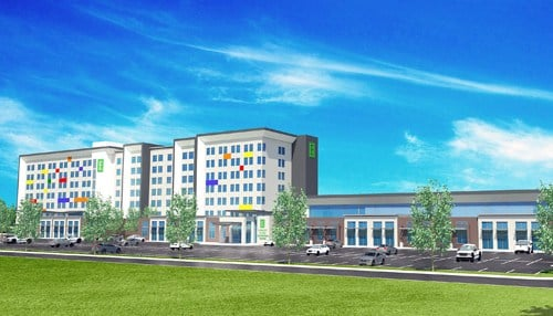 Construction is set to begin in the spring and last about 18 months.