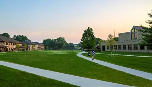 O'Connor Commons was made possible by a $1 million gift from Barbara O'Connor in memory of her late husband, John V. O'Connor.