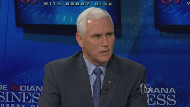 """Pence has opposed to what he calls a """"war on coal"""" by the EPA."""