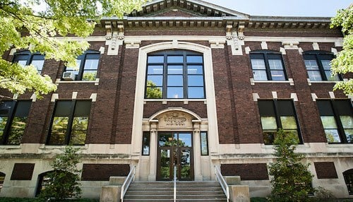 (Image of the Purdue University Agriculture Administration Building courtesy of Purdue)