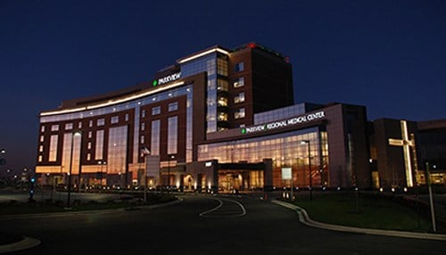 Parkview Regional Medical Center in Fort Wayne was on this year's list.