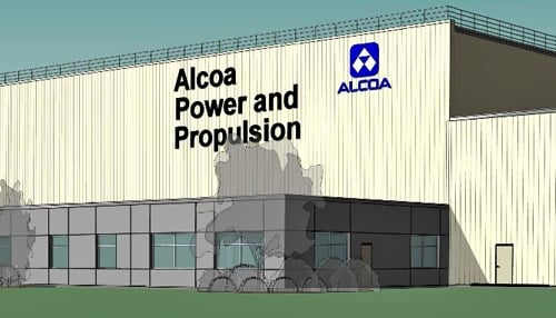 (Rendering provided by Alcoa) Aloca has a long history in La Porte. It's Howmet facility was founded in 1957.
