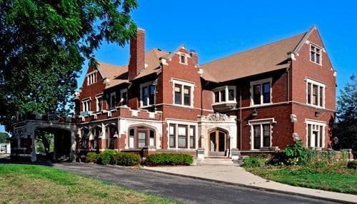 The mansion is located at 3202 North Meridian Street.