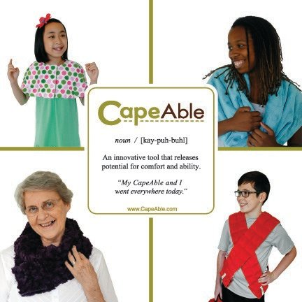 CapeAble says an expanding customer base revealed the products aren't just for people with special needs.