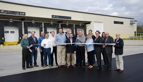 A ribbon-cutting ceremony was held Friday.