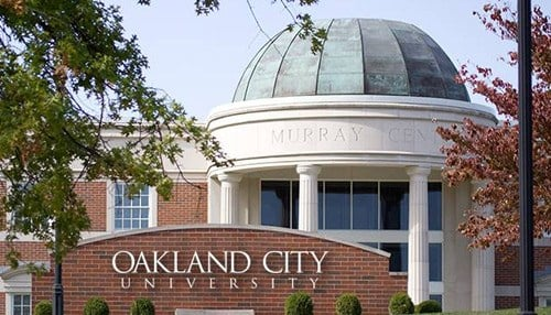 Oakland City University in Gibson County is one of this year's recipients.