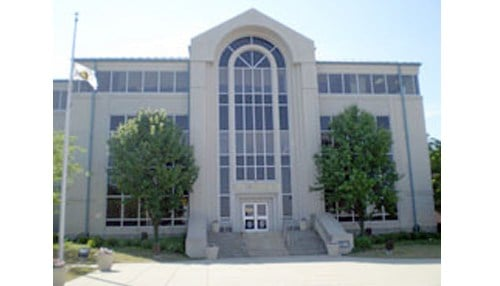 The redevelopment is proposed for the area near Muncie City Hall.