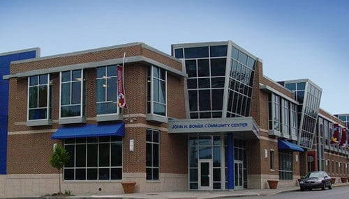 The John H. Boner Community Center on the east side of Indianapolis is one of three centers receiving funds.
