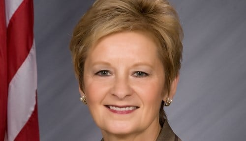 Secretary of State Connie Lawson (file photo)