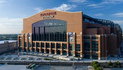 The announcement is set for 9 a.m. on Tuesday at Lucas Oil Stadium.