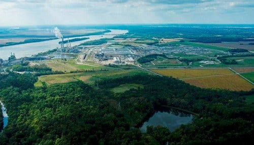 Alcoa's Warrick Operations facility covers 9,000 acres.