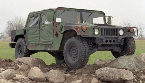 AM General produces Humvees for the military.