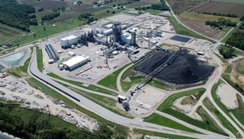 The plant began operations in June 2013.