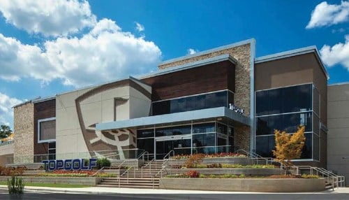 (Rendering of Topgolf Fishers courtesy of Topgolf)