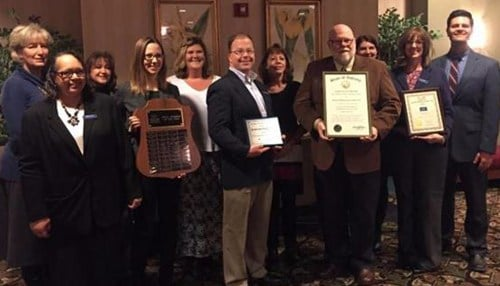Bennett Boehning & Clary LLP received the 2015 Small Business of the Year award.
