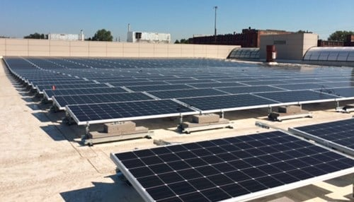 Telamon served as the designer and engineer for the four-acre, 1MW solar array.
