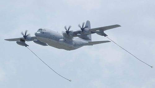 """The aircraft is know as """"Hercules."""""""