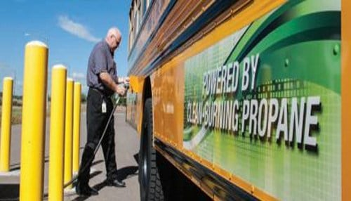 North Spencer County School Corp. will replace two older diesel-fueled school buses with new propane-fueled school buses.