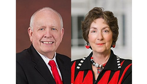 Frank Hancock (pictured left) and Marianne Glick (pictured right) have been with the board since 2006.