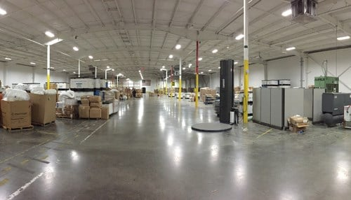 In late 2014, the company moved into a 58,000 square-foot warehouse, inventory management and order fulfillment space in Evansville.