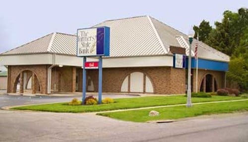 Farmers State Bank has five northeast Indiana locations including one in Brookston (pictured).