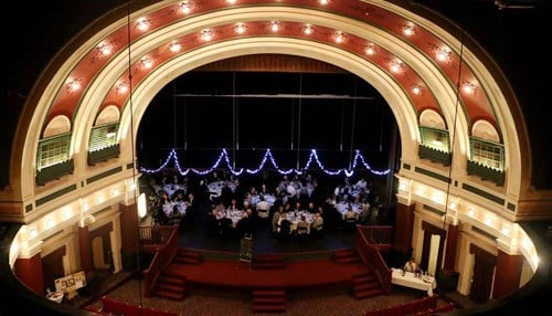 The theater dates back to the 1900s.