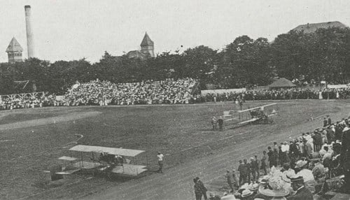 The original event was held in 1911. The next version will take place April 16 at Purdue University Airport.