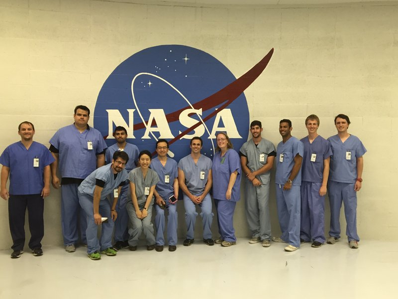 Kacena's team tested the impacts of launch effects at the NASA Ames Research Center.