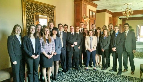20 students competed in last year's challenge. (photo courtesy Grant County Economic Growth Council)