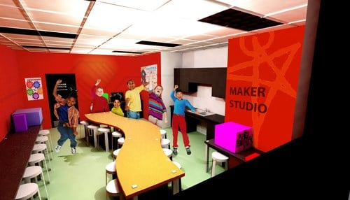 nonprofit launches makerspace crowdfunding campaign