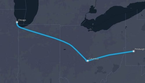 Proposed Hyperloop Route Would Run Through Indiana Inside
