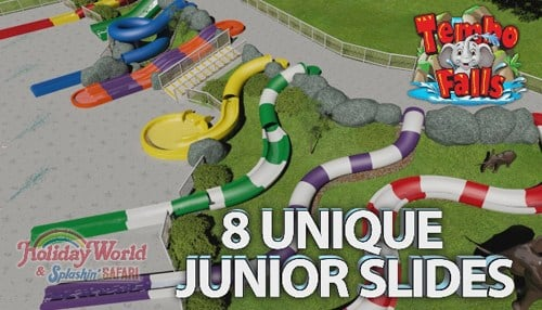 Multi-Million Dollar Waterpark Expansion For Holiday World, Plus Voyage Trackwork.