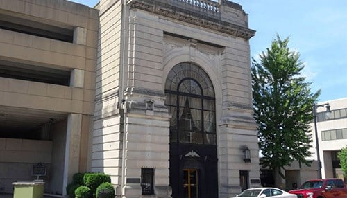 First Financial Donates Historic Building For Restoration Inside