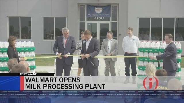 Walmart Opens One-of-a-Kind Milk Processing Plant - Inside