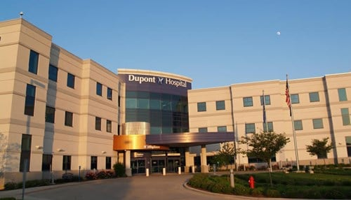 Dupont Hospital in Fort Wayne has been on the list three straight years.