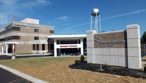 Greene County General Hospital is one of the grant recipients.