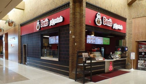 The first Ben's Soft Pretzels opened in 2008 at Concord Mall in Elkhart.