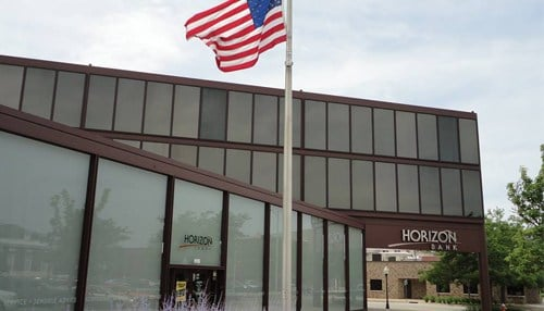 Horizon Bank is headquartered in Michigan City.
