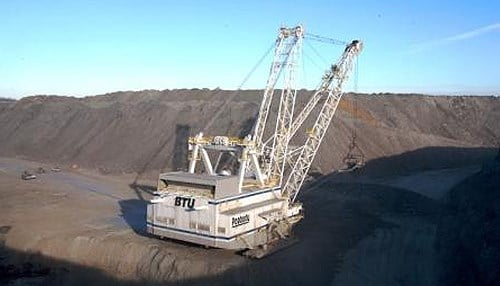 Peabody Indiana Services LLC announced it's closing its Gibson County coal mine (file photo)