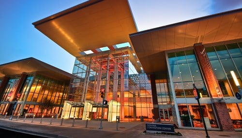 The event will take place at the Indiana Convention Center.