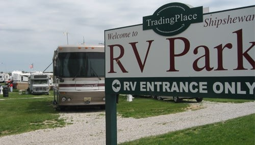 The new RV service center will be located just southeast of the Shipshewana Trading Place RV campground.