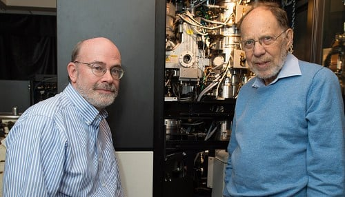 Purdue researchers Richard Kuhn (pictured left) and Michael Rossmann (pictured right) led the team of researchers to determine the Zika virus' structure.