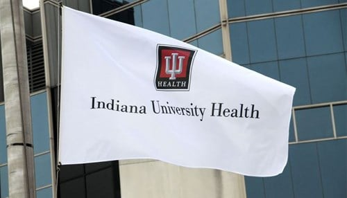 IU Health says operating revenue grew from $6.34 billion in 2017 to $6.43 billion in 2018.