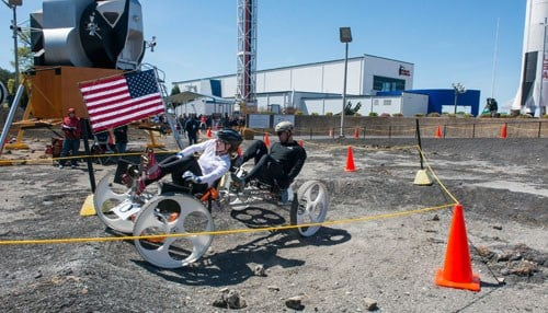 One of the Purdue teams took 1st place in the university division. (photo courtesy NASA/MSFC/Fred Deaton)