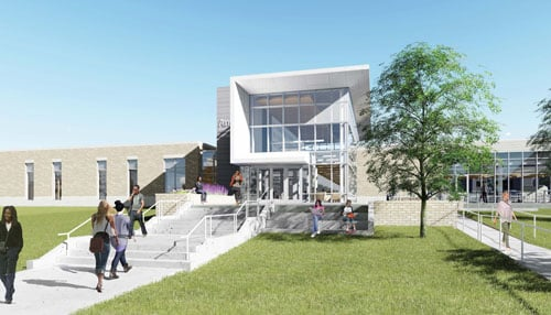 The facility is expected to be complete in the fall of 2017.