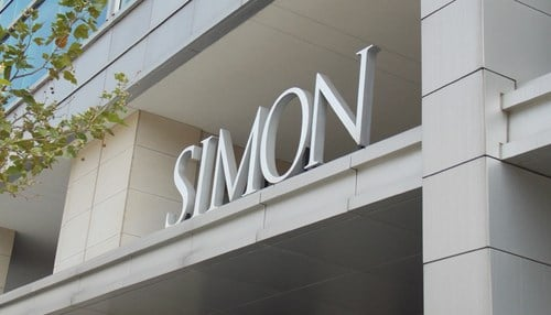 Simon Property Group is one of two Indiana companies on the list.