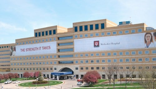 The CARE Plus program will be available for all opioid-dependent mothers who deliver babies at IU Health Methodist Hospital. (photo courtesy IU Health)