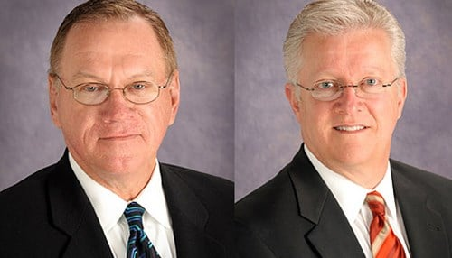 John Rhine (left) and Stanton Ernest will join BGD as partners.