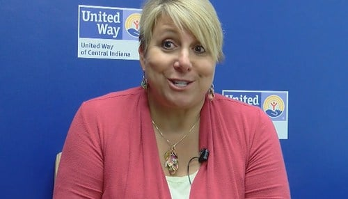 "United Way of Central Indiana CEO Ann Murtlow calls the launch a ""unifying moment."""
